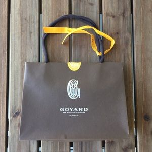 Goyard Gift Bag Brown Authentic
